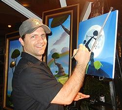 Michael Provenza, The Artist