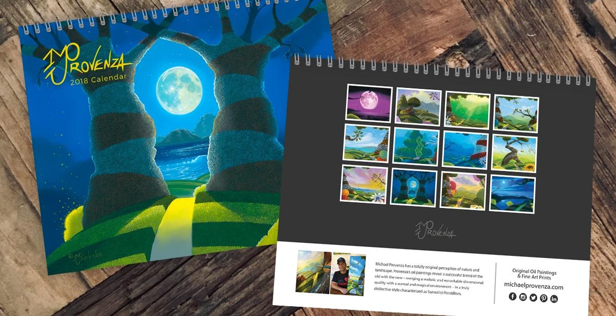 Michael Provenza 2017 Calendar