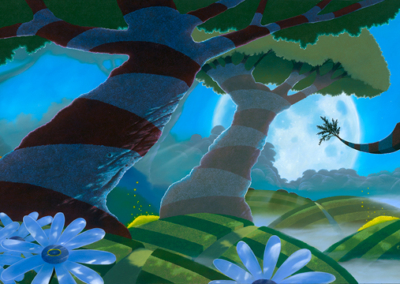 Illuminated Garden 24×40 – ORIGINAL SOLD