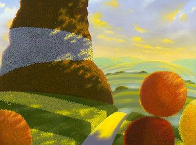 Harvest Poms 8×10