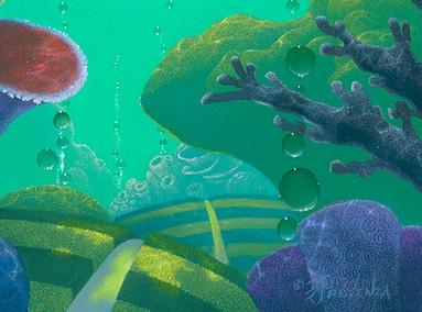 Purple Coral 8×10