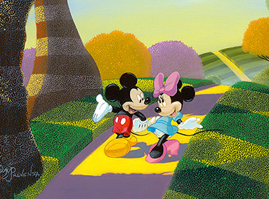 Mickey and Minnie Mouse – A Walk in the Park