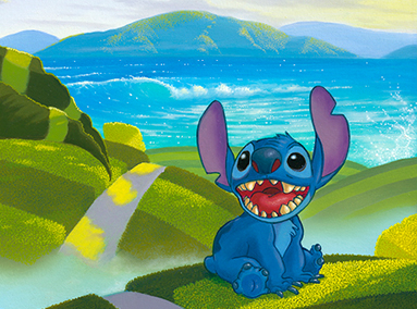 Lilo & Stitch – Home – ORIGINAL SOLD