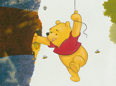 Winnie the Pooh – Honey Tree – ORIGINAL SOLD