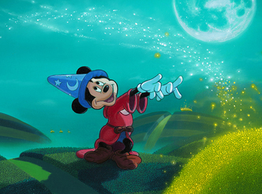 Fantasia – Moonlit Magic – Mickey Mouse – ORIGINAL SOLD