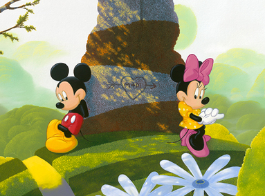 Mickey and Minnie Mouse – Our New Territory – ORIGINAL SOLD