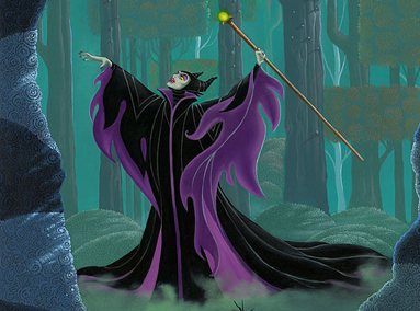 Sleeping Beauty – Maleficent Summons the Power – ORIGINAL SOLD