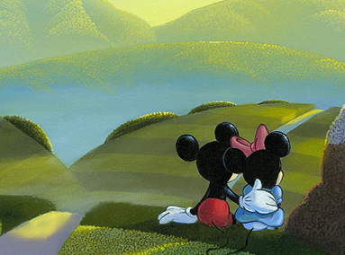 Mickey and Minnie Mouse – Love's Path