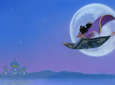 Aladdin – Moon Over Agrabah – ORIGINAL SOLD