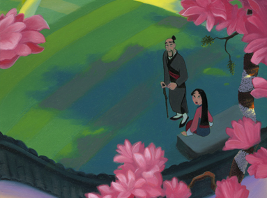 Mulan – Family – ORIGINAL SOLD