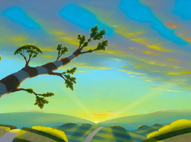Bright Morning Star 12×48