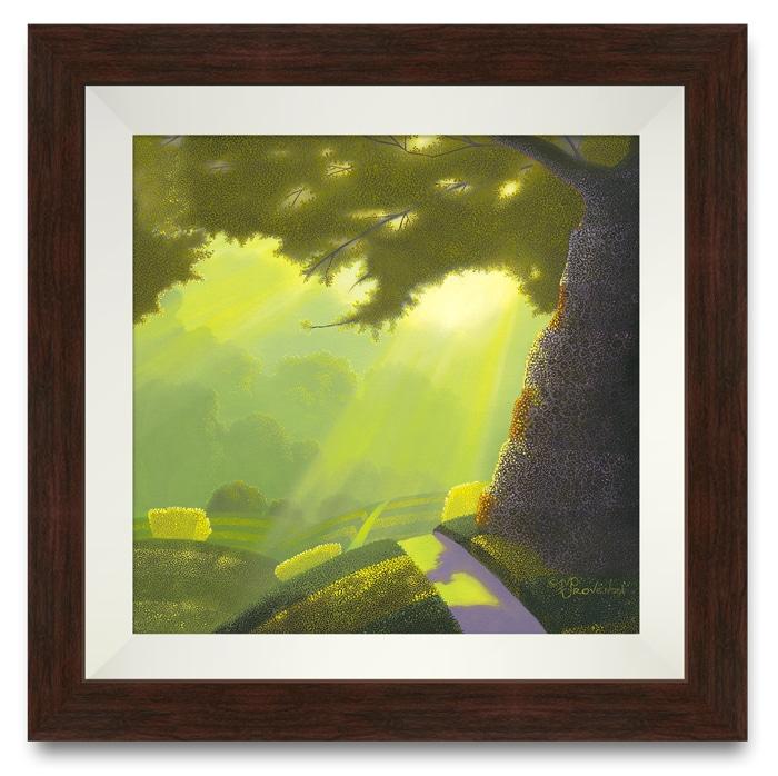 INTO THE LIGHT framed
