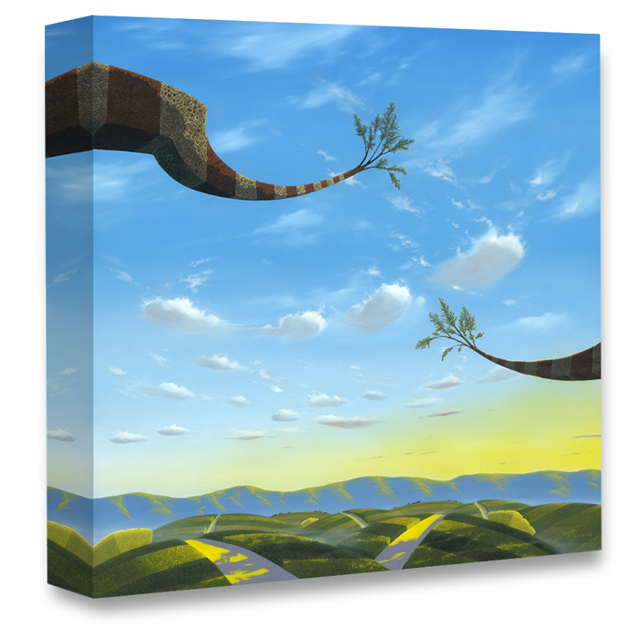 """""""Through Heaven, Earth and Time"""" by Michael Provenza gallery wrap"""