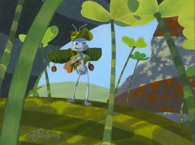 A Bug's Life – Flick – The Adventure – ORIGINAL SOLD