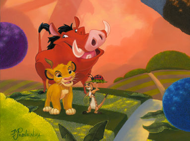 The Lion King – Grubs – ORIGINAL SOLD