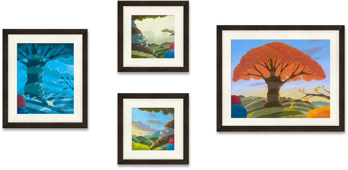 Seasons Set of 4 Limited Editions