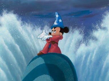 Fantasia – Sorcerer Mickey – Wave Maker