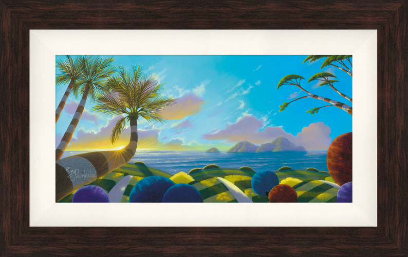 Sunset Dream 10x20 (oil on panel) by Michael Provenza