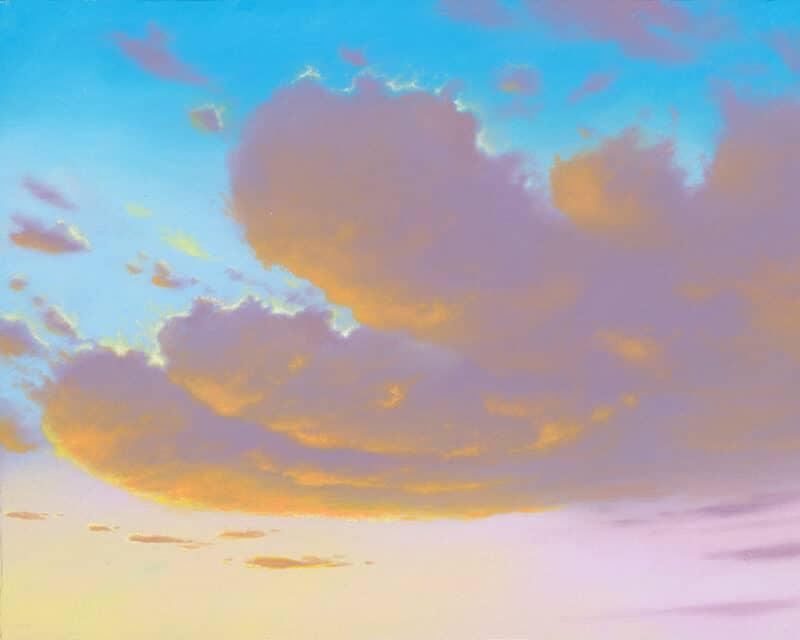 Sunrise Sunset cloud painting final